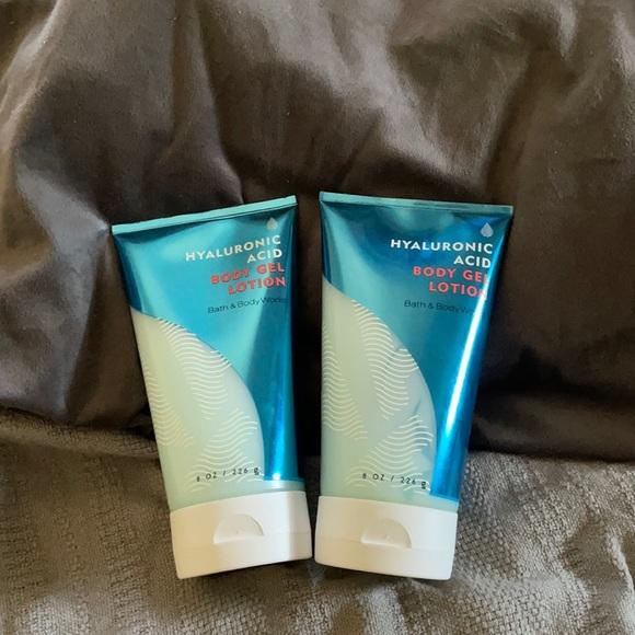 B&BW hyaluronic acid body gel lotion